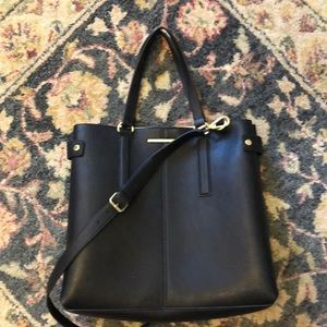 Steve Madden Work Tote Black Laptop Bag